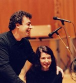 Semyon Bychkov with Marielle Labèque (Photo: Klaus Barisch)