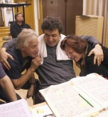 Semyon with Deborak Polaski and Graham Clark recording Elektra