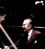 Semyon with Claudio Arrau, 1987, Berlin