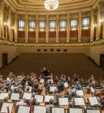 Semyon Bychkov and the Czech Philharmonic in rehearsal at the Rudolfinum in Prague_credit Marco Borggreve for the Czech Philharmonic