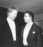 Semyon with Lynn Harrell at Berlin Philharmonie 1986
