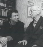 Semyon with Ilya Musin, St Petersburg